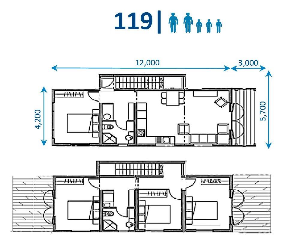 FIRSTBUILD Family 119 4 Bedroom
