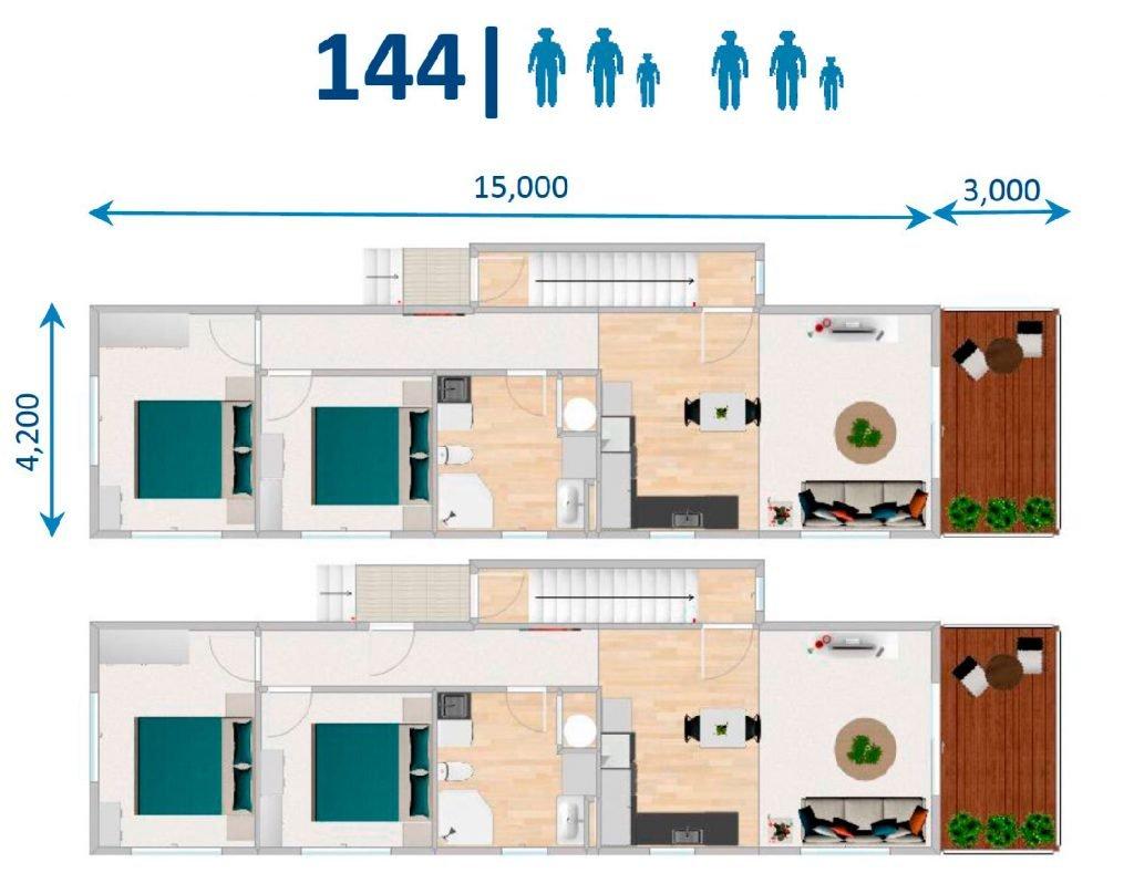 FIRSTBUILD HOME INCOME 4 Bedroom floor plan