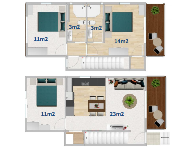 FirstBuild Family Series 93 Floor Layout