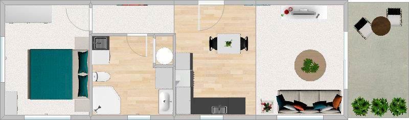 FirstBuild Onesie 50 Floorplan