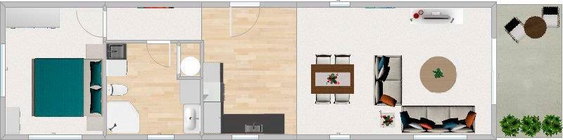 FirstBuild Onesie 65 Floorplan