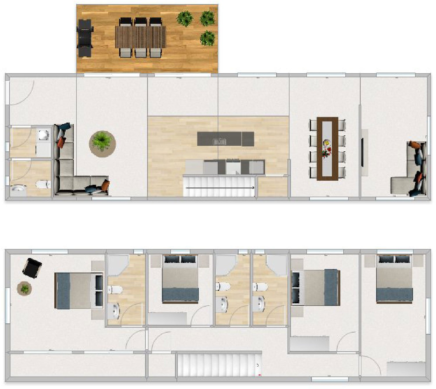 FirstBuild Epic 180 4 bedrooms 4 bathrooms 2 Entertaining Areas 2 levels