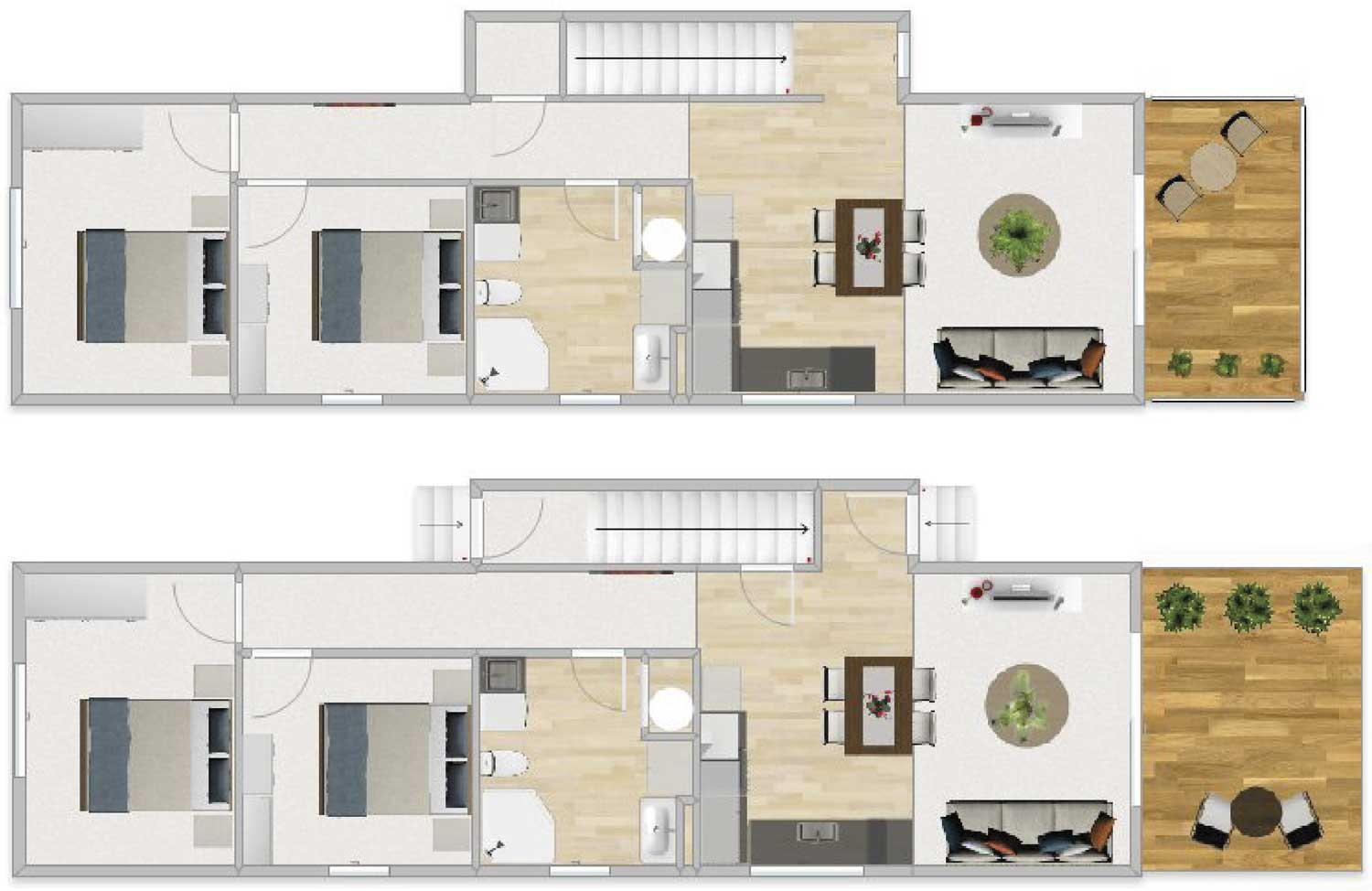 FirstBuild Home & Income - 2 Seperate Homes in One Dwelling
